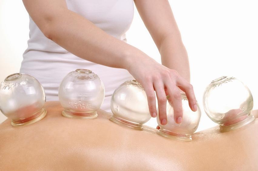 Vakuum Massage